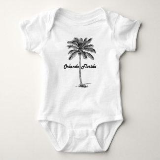 Body Para Bebê Design preto e branco de Orlando & de palma