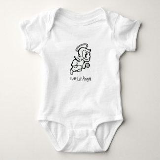 """Body Para Bebê Do """"Bodysuit do jérsei do bebê do anjo de Lil"""