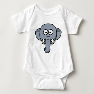 Body Para Bebê Elefante bonito