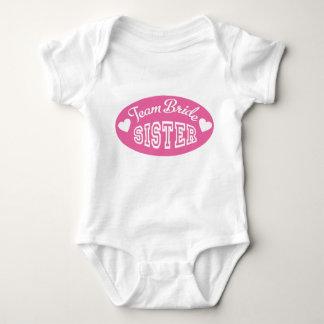 Body Para Bebê Equipa Bride