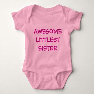 Body Para Bebê Equipamento IMPRESSIONANTE do bebê do rosa da IRMÃ
