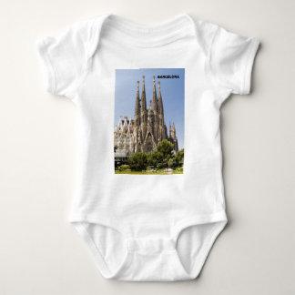 Body Para Bebê Espanha de Sagrada Familia Barcelona
