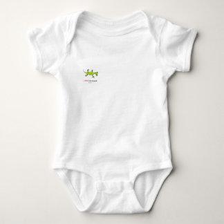 Body Para Bebê Eu amo o lagarto de Lilly!