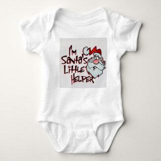 Body Para Bebê Eu sou o ajudante pequeno do papai noel