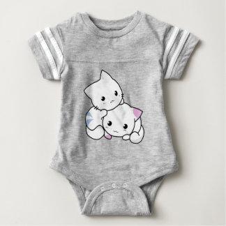 Body Para Bebê Gatinhos irmão irmã &
