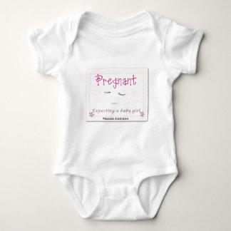 Body Para Bebê Grávido com o Addison