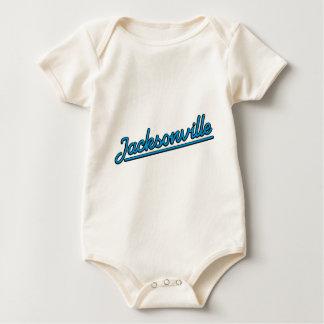 Body Para Bebê Jacksonville em ciano