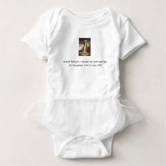 Body Para Bebê Joseph Bologne, Cavaleiro de Santo-Georges