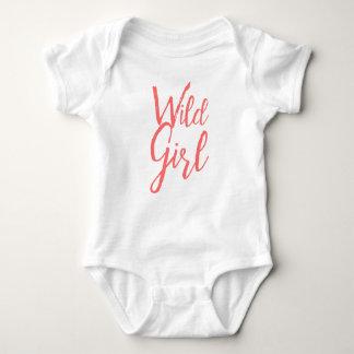 Body Para Bebê Menina selvagem (expressões feministas)