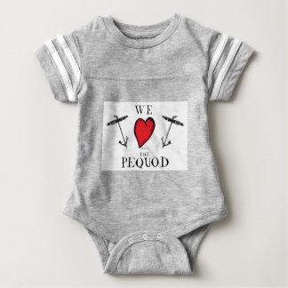 Body Para Bebê nós amamos o pequod