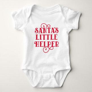 Body Para Bebê O ajudante pequeno do papai noel