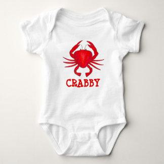 Body Para Bebê O caranguejo vermelho Crabby de Maryland Crabs o
