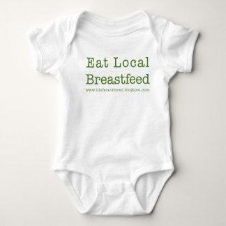 Body Para Bebê O Lactivist pequeno