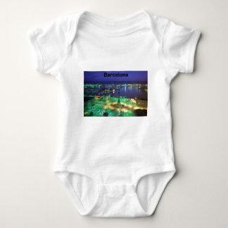 Body Para Bebê Opinião da noite de Barcelona da espanha (St.K)