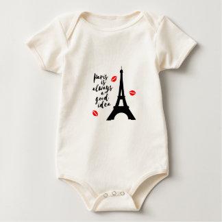 Body Para Bebê Paris