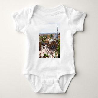 Body Para Bebê Parque Guell em Barcelona, espanha