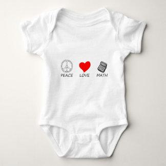 Body Para Bebê paz love5