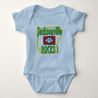 Body Para Bebê Rochas de Jacksonville! (verde)