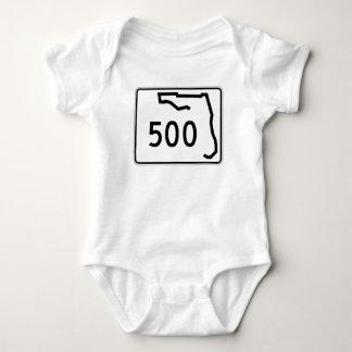 Body Para Bebê Rota 500 do estado de Florida