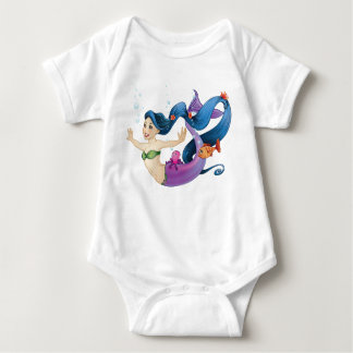 Body Para Bebê Sereia de fevereiro