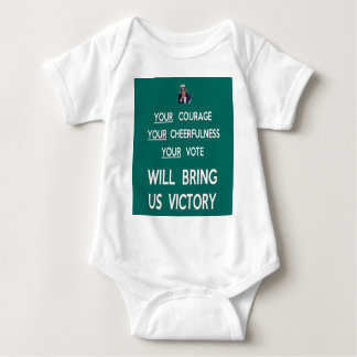 Body Para Bebê Seu voto trar-nos-á a vitória