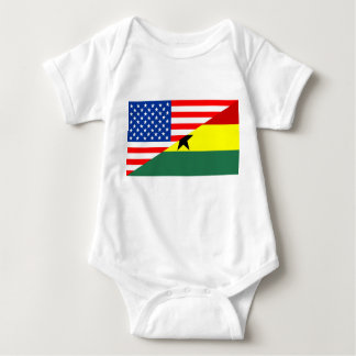 Body Para Bebê símbolo de América da bandeira do país dos EUA