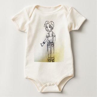 Body Para Bebê Tempo adolescente