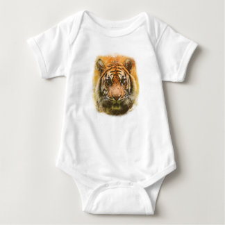 Body Para Bebê Tigre