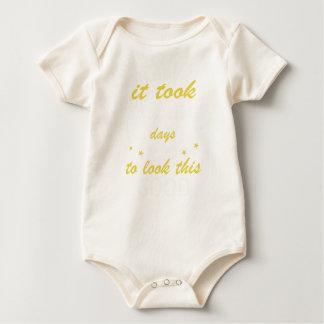 Body Para Bebê Tomou 80 anos para olhar este bom