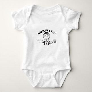 Body Para Bebê Voto da população de Nuketown