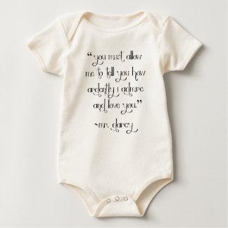 Bodysuit da camisa do bebê de Proposta do Sr.