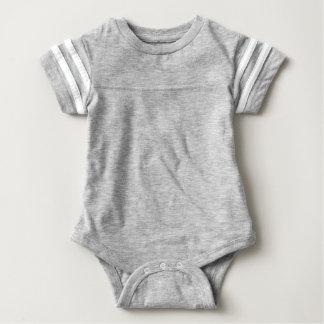Bodysuit do futebol do bebê camiseta