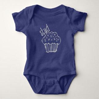 Bodysuit do muffin do parafuso prisioneiro, camisa