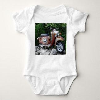 Bodysuit velho bonito do jérsei do bebê do camisetas