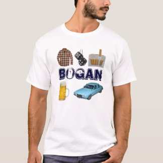 Bogan no geek tshirt