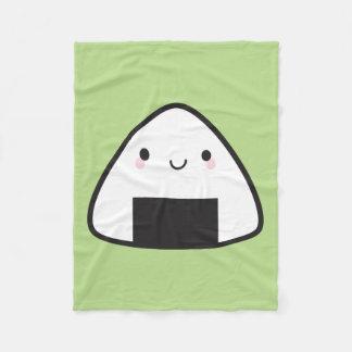 Bola de arroz de Kawaii Onigiri Cobertor De Lã