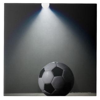 Bola de futebol 2 azulejo quadrado grande