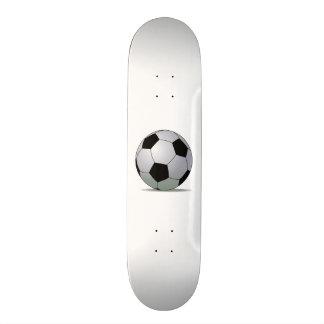 Bola de futebol americana do futebol de associação skates