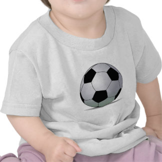 Bola de futebol americana do futebol de associação tshirts
