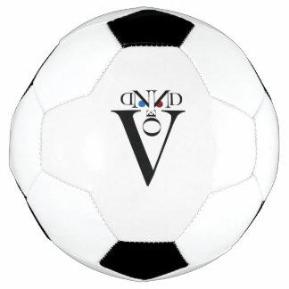 Bola de futebol da cara da letra