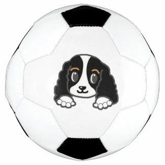 Bola De Futebol espreitar descuidado dos kcs preto e branco