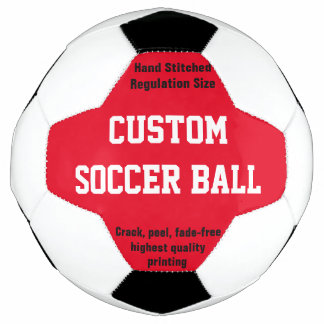 Bola de futebol impressa costume a personalizar