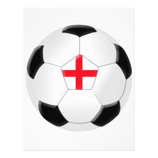 Bola de futebol - Inglaterra Flyer 21.59 X 27.94cm
