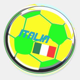 Bola de futebol Italia Adesivo