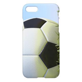 Bola de futebol na grama capa iPhone 7