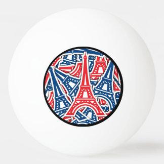 Bola De Ping-pong Torre Eiffel, teste padrão de France