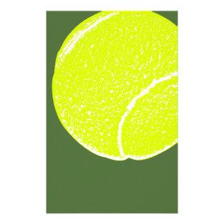bola de tênis amarela papelaria
