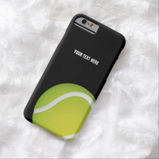 Bola de tênis verde personalizada capa barely there para iPhone 6