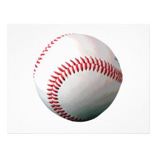 Bola do basebol flyer 21.59 x 27.94cm