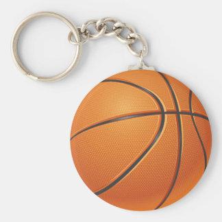 Bola do basquetebol, esporte de equipe chaveiro
